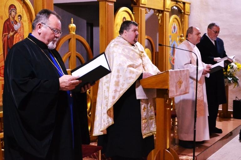 e3e3941f5036 Zúčastnili sa ho zástupcovia jednotlivých kresťanských spoločenstiev  pôsobiacich na území mesta Humenné.